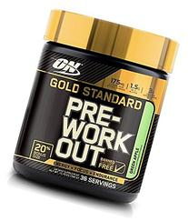 Optimum Nutrition Gold Standard Pre-Workout, Green Apple, 12