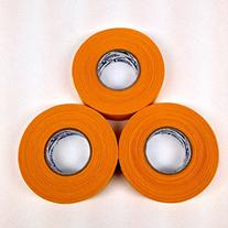 Gold/orange Cloth Ice Hockey Tape - 3 Rolls