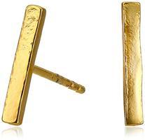 """gorjana """"Taner"""" Gold-Plated Bar Stud Earrings"""
