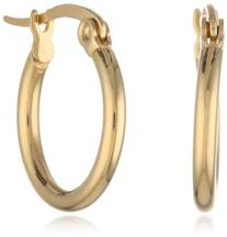 18k Gold-Plated Small Hoop Earrings