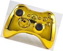 Gold Xbox 360 Modded Controller including Rapid Fire COD MW3