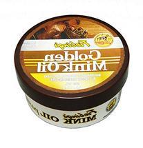 Fiebing's Golden Mink Oil Leather Preserver, 6 oz -