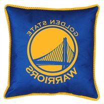 NBA Golden State Warriors Sidelines Toss Pillow, 17 x 17,