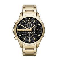 AX Armani Exchange Goldtone Hampton Chronograph Watch with