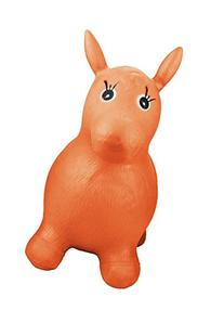 Goldy the Inflatable Hopping Ride On Horse - Orange