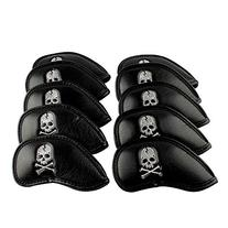 6000081 Craftsman Golf 10pcs Black Skull Thick Pu Synthetic