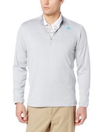 Adidas Golf Men's Climawarm+ Half Zip Pullover, Lead/Black,