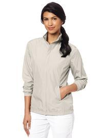 Callaway Women's Core Basic Full-Zip Shirt, Silver Lining,