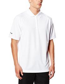 Nike Golf Dri-Fit Victory Polo, White/Black, Large
