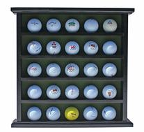 Golf Gifts-Gallery Golf Ball Display Cabinet, NO Door, GB25