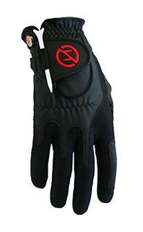 Zero Friction Golf Glove, Left Hand, One Size, Black