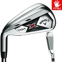 Callaway Golf X-Hot Individual #6 Iron Left-Handed Steel