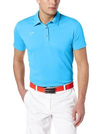 Puma Golf NA Men's Tech Polo Shirt, Blue Aster, Small