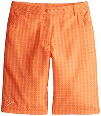 Puma Golf Boys Junior Novelty Shorts, Vibrant Orange/Orange