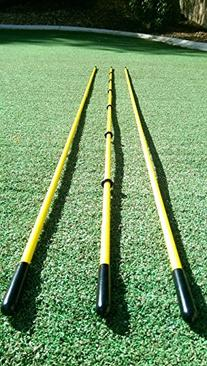 "Golfnsticks ""The Top Rated"" Golf Alignment Sticks on Amazon"