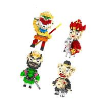 Gooband® Pack of 4 LOZ Nanoblock Journey to the West