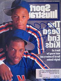"""Gooden, Dwight """"Doc"""" & Strawberry Darryl 2/27/95 autographed"""