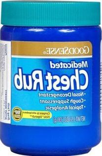 Goodsense Medicated Vapor Chest Rub 3.5 Oz