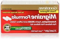 GoodSense Migraine Formula Tablets, 24 Count