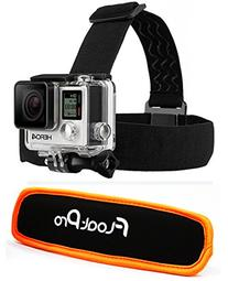 FloatPro 2-in-1 Head Strap Mount and Detachable Floaty for