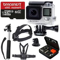 GoPro HERO4 SILVER Edition Camera HD Camcorder With Deluxe
