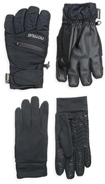 BURTON Men's Gore-Tex Under Gloves, True Black, Medium