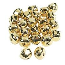 GORGEOUS GOLD JUMBO JINGLE BELLS  - BULK
