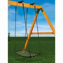 Gorilla Playsets Chill 'N Swing with Swing Brackets, Black
