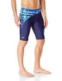 Speedo Men's Got You Jammer Swimsuit, Blue, 34