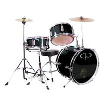 GP Percussion GP50BK Complete Junior Drum Set