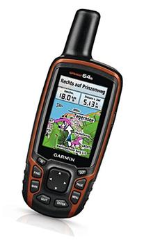 Garmin GPSMAP 64s Worldwide with High-Sensitivity GPS and