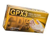 AMMEX - GPX3 - Vinyl Gloves - Disposable, Powder Free, Latex