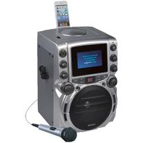 "Karaoke USA GQ743 CDG System with 4.3"" Color TFT Screen"