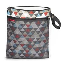 Skip Hop Grab and Go Wet-Dry Bag, Triangles