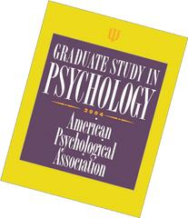 Graduate Study in Psychology 2004