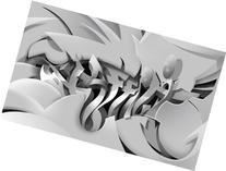 "Graffiti 3D Print Edition, Part of ""Pixel Dust"