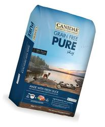 CANIDAE Grain Free PURE Sky Dog Dry Formula with Fresh Duck