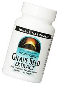 Source Naturals Proanthodyn Grape Seed Extract 200mg,