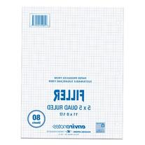 Roaring Spring 5x5 Graph Ruled Filler Paper, 11 x 8.5 Inches