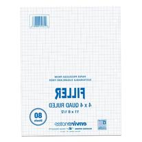 Roaring Spring 4x4 Graph Ruled Filler Paper, 11 x 8.5 Inches