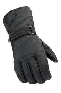 Raider Graphite Black Large Snow Gloves
