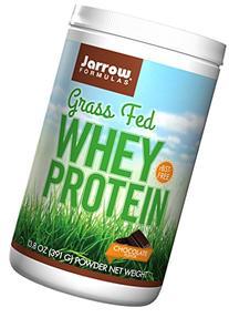 Grass Fed Whey Protein Chocolate Jarrow Formulas 13.8oz