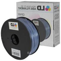 LD © Gray 1.75mm ABS 3D Printer Filament