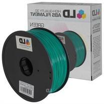 LD © Green 1.75mm ABS 3D Printer Filament