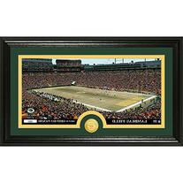 """Green Bay Packers """"Word Art"""" Mint Bronze Coin and Panoramic"""