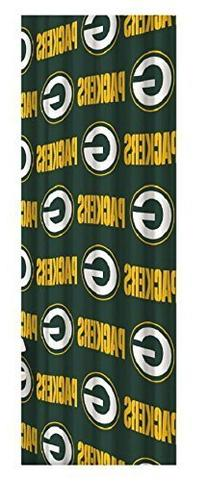 Green Bay Packers Decorative Bath Collection Shower Curtain