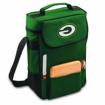 Picnic Time Green Bay Packers Duet Wine & Cheese Tote