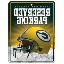 Green Bay Packers Official NFL 8.5 inch x 11 inch Metal