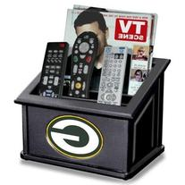 Green Bay Packers Remote Caddy and Magazine Holder