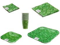 Green Block Pattern Party Pack